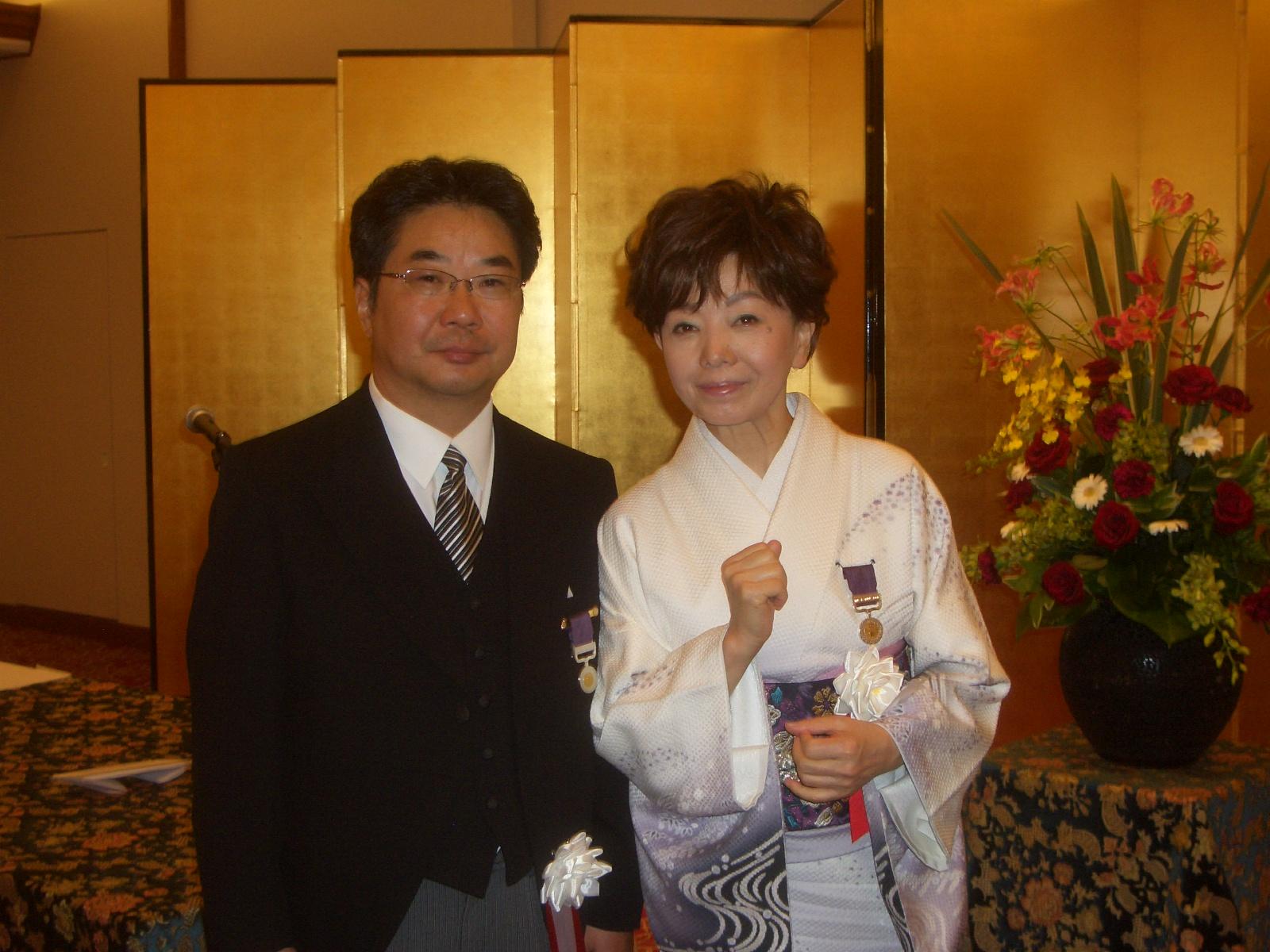 森教授 2010 紫綬褒章受章 » 森...