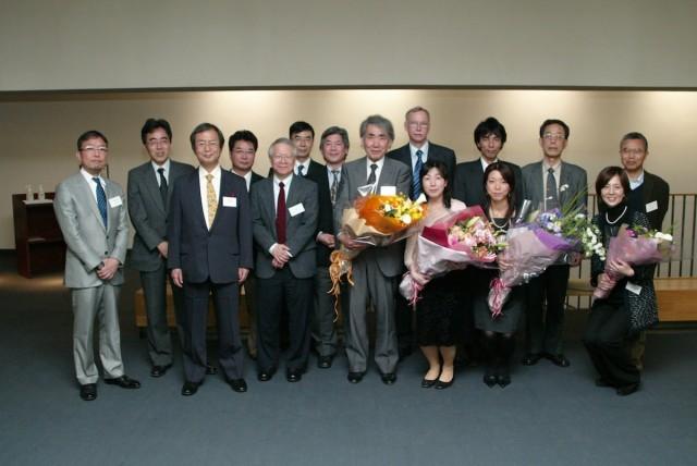 永田和宏教授 1回目の定年退職