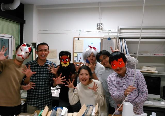 みんなでHappy Halloween !!